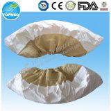 Cubierta protectora del zapato desechable no tejido, cubierta del zapato de PP / CPE para el médico