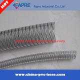 Tuyau en PVC / tuyau d'aspiration renforcé en acier au PVC