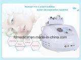 máquina de limpiamiento facial de Dermabrasion del pequeño de las burbujas 4in1 oxígeno del agua