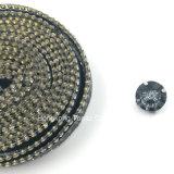 Fix Rhinestone 2017 уравновешивание Rhinestone прокладки тесемки PU нового Elemenet горячего кристаллический (TP-Новое Sclothing)