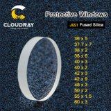 Laser Cloudray lentes protetoras D36-80mm Quartz sílica fundida