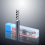 3개의 플루트 알루미늄 절단기 CNC는 선반 기계를 위한 탄화물 끝 선반을 도구로 만든다
