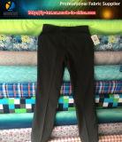 Tejido de poliéster T400 Stretch Compund para pantalones de traje
