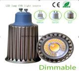 Ce and Rhos GU10 9W COB LED Light