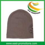 자수 로고 남자를 위한 아크릴 뜨개질을 한 베레모 모자 모자