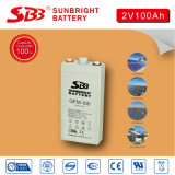 Leitungskabel-Säure-Batterie AGM-2V100ah für Telekommunikation