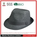 人のための黒い白紙の麦わら帽子