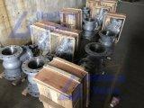 Endlosschraube gangbetriebener Coulping eingehangener Dreiwegedreiwegekugelventil-Fabrik-Manufaktur-Koaxialhersteller