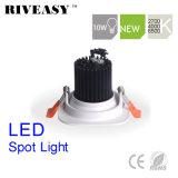 proyector blanco de la iluminación LED Aliuminum de la MAZORCA cuadrada LED Downlight LED de 10W