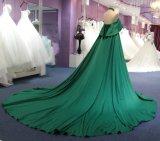 Arabic линия платье вечера венчания Halter с поездом