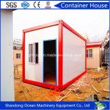 Casa de acero prefabricada del envase del diseño moderno del panel de emparedado del edificio de la estructura de acero para el campo de trabajos forzados de Domitory de la oficina