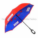 Подгонянный портативный Handsfree прямой обратный перевернутый зонтик (SU-0023I)