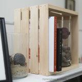 Клеть коробки хранения стойкости сбор винограда упаковывая деревянная с ручками