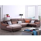 現代デザイン居間ホテルの寝室の家具- Fb1150のためのリネンファブリックソファー