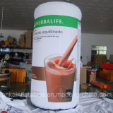 Tazza di pubblicità gonfiabile personalizzata della bottiglia del caffè di nuovo disegno con l'alta qualità