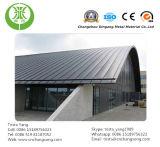 Material para techos de aluminio revestido del color