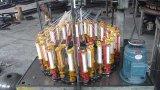 高速ロープの組みひも機械