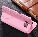 Nueva caja del teléfono del cuero de la manera para Samsung