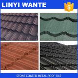Mattonelle di tetto rivestite del metallo di vendita della pietra impermeabile calda di ondosità