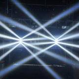 8*10W het Bewegende Hoofd van de LEIDENE Spin van RGBW 4in1 voor Club (hl-017YT)