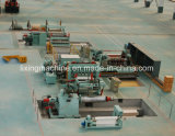 Auto talhadeira e linha da máquina de Rewinder para a tira de aço