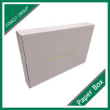 Matt-Papier-verpackenkasten mit heißem gestempeltem kundenspezifischem Firmenzeichen