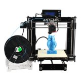SD 카드와 필라멘트를 가진 고정확도 Prusa I3 3D 탁상용 프린터 각자 회의 DIY 테이블 인쇄 기계 부속