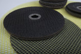フェノール樹脂の粉砕車輪のための上塗を施してあるガラス繊維の網