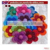 Elastisches Blumen-Haar-Band-Zubehör-Partei-Produkt-Haar-Spinnen (P3012)