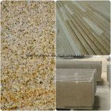 Mattonelle di pavimentazione del Brown dello zaffiro/controsoffitti del granito