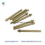 OEM/ODM de latón de alta precisión/eje metálico con piezas de mecanizado CNC