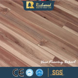 12,3mm E0 HDF AC4 Estampadas Walnut piso laminado