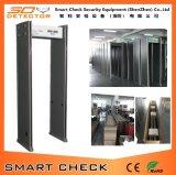 6 détecteur de métal bon marché de la zone du détecteur de métal Walk-Through marcher à travers le détecteur de métal