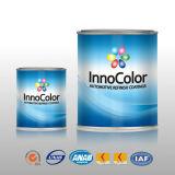 Peinture automobile de couleurs métalliques constitutives simples