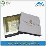Роскошная бумага с покрытием кладет коробку в коробку выдвижения волос упаковывая