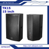 "Altifalante de áudio do gabinete do alto-falante do painel de 15 ""Passive Floor Monitor (TK15)"