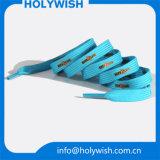 Дешевые изготовленный на заказ навальные шнурки веревочки тапки с экраном напечатали
