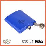 Vacío DSC_0059 5 oz de acero inoxidable Frasco Frasco pintura de color de la cadera