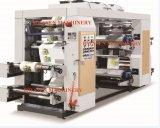 Velocidad media de 1.000 mm de 4 colores de la máquina de prensa de impresión flexográfica