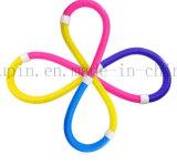 Plástico dobrável de plástico Hula Hoop multifuncional com mola para musculação