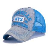 Бейсбольная кепка сетки джинсовой ткани хлопка способа Nylon (YKY3442)