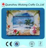 Paisaje Beautifuly Souvenir personalizado el marco de fotos de resina