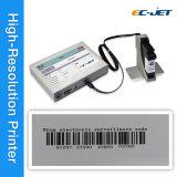 Impressora de códigos de barras Impressora de jacto contínuo para Caixa de papel (ECH700)