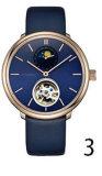 Люди wristwatch способа/повелительницы делают вахты водостотьким Samrt