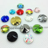 Diverse Kleuren naaien op de Steen Rivoli van het Kristal naaien op het Bergkristal van het Glas (sW-Rivoli 818mm gemengde kleuren)