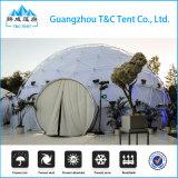 Дом купола стеклоткани рамки металла высокого качества, придает куполообразную форму: геодезический шатер