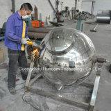 Calefacción eléctrica vertical del acero inoxidable del surtidor de China que cocina el crisol