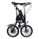 Bicicleta de dobramento dos freios de disco do pneu pneumático da bicicleta