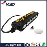 Fila simple 300W 50 pulgadas LED de la barra de la luz del camino 20 pulgadas 120W barra ligera del LED para 4X4 ATV, SUV