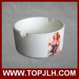Cenicero de cerámica de sublimación clásico personalizado